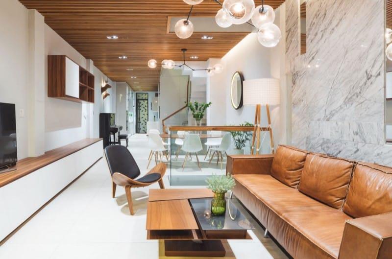 Top 20 Mẫu Thiết Kế Nội Thất Nhà Phố, Nhà Ống Đẹp Ấn Tượng Nhất -  - mẫu thiết kế nhà ống đẹp | mẫu thiết kế nhà phố đẹp | Mẫu thiết kế nội thất đẹp 63