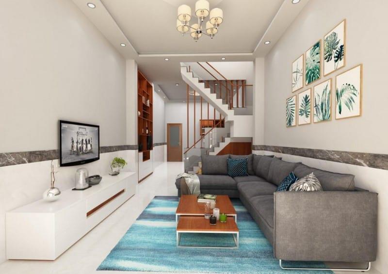 Top 20 Mẫu Thiết Kế Nội Thất Nhà Phố, Nhà Ống Đẹp Ấn Tượng Nhất -  - mẫu thiết kế nhà ống đẹp | mẫu thiết kế nhà phố đẹp | Mẫu thiết kế nội thất đẹp 65