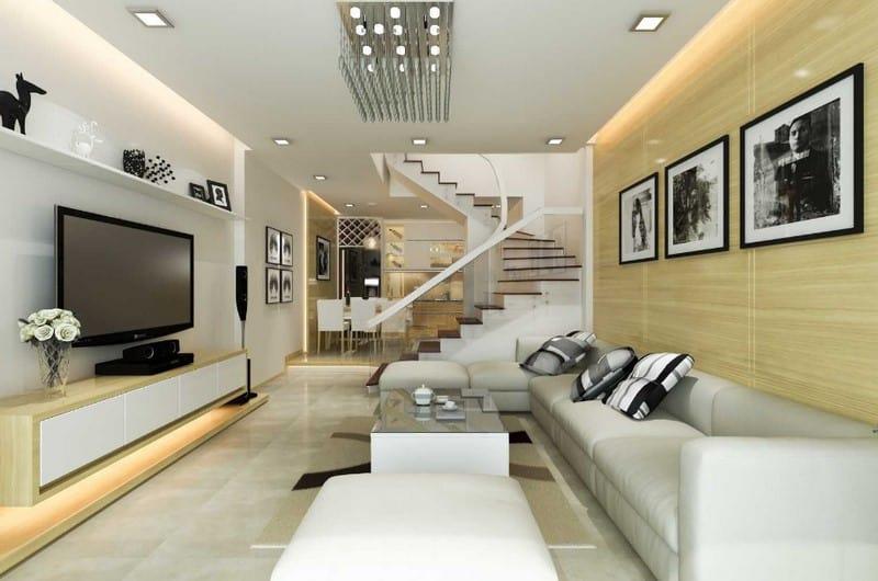 Top 20 Mẫu Thiết Kế Nội Thất Nhà Phố, Nhà Ống Đẹp Ấn Tượng Nhất -  - mẫu thiết kế nhà ống đẹp | mẫu thiết kế nhà phố đẹp | Mẫu thiết kế nội thất đẹp 67