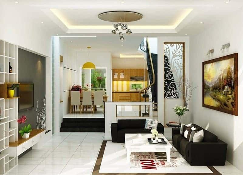Top 20 Mẫu Thiết Kế Nội Thất Nhà Phố, Nhà Ống Đẹp Ấn Tượng Nhất -  - mẫu thiết kế nhà ống đẹp | mẫu thiết kế nhà phố đẹp | Mẫu thiết kế nội thất đẹp 77