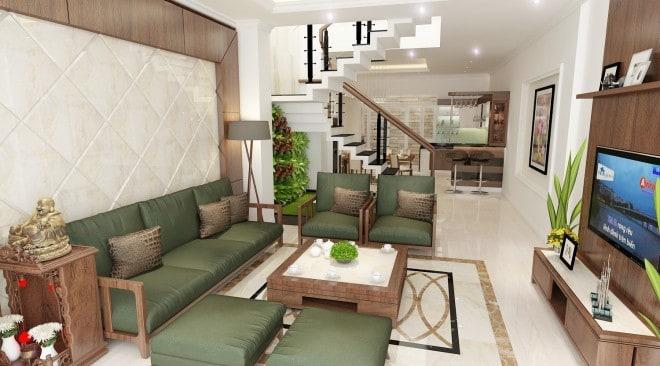 Top 20 Mẫu Thiết Kế Nội Thất Nhà Phố, Nhà Ống Đẹp Ấn Tượng Nhất -  - mẫu thiết kế nhà ống đẹp | mẫu thiết kế nhà phố đẹp | Mẫu thiết kế nội thất đẹp 43