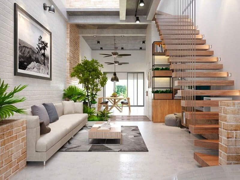 Top 20 Mẫu Thiết Kế Nội Thất Nhà Phố, Nhà Ống Đẹp Ấn Tượng Nhất -  - mẫu thiết kế nhà ống đẹp | mẫu thiết kế nhà phố đẹp | Mẫu thiết kế nội thất đẹp 79