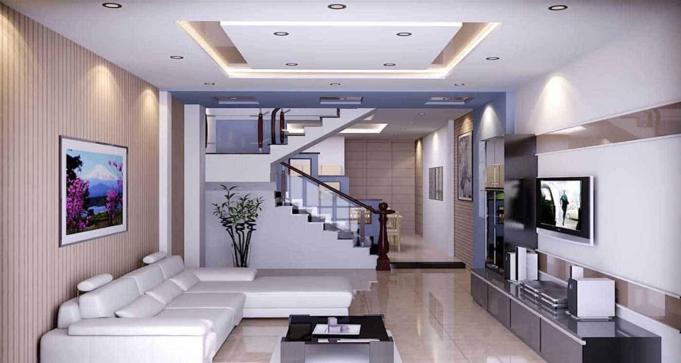 Top 20 Mẫu Thiết Kế Nội Thất Nhà Phố, Nhà Ống Đẹp Ấn Tượng Nhất -  - mẫu thiết kế nhà ống đẹp | mẫu thiết kế nhà phố đẹp | Mẫu thiết kế nội thất đẹp 45