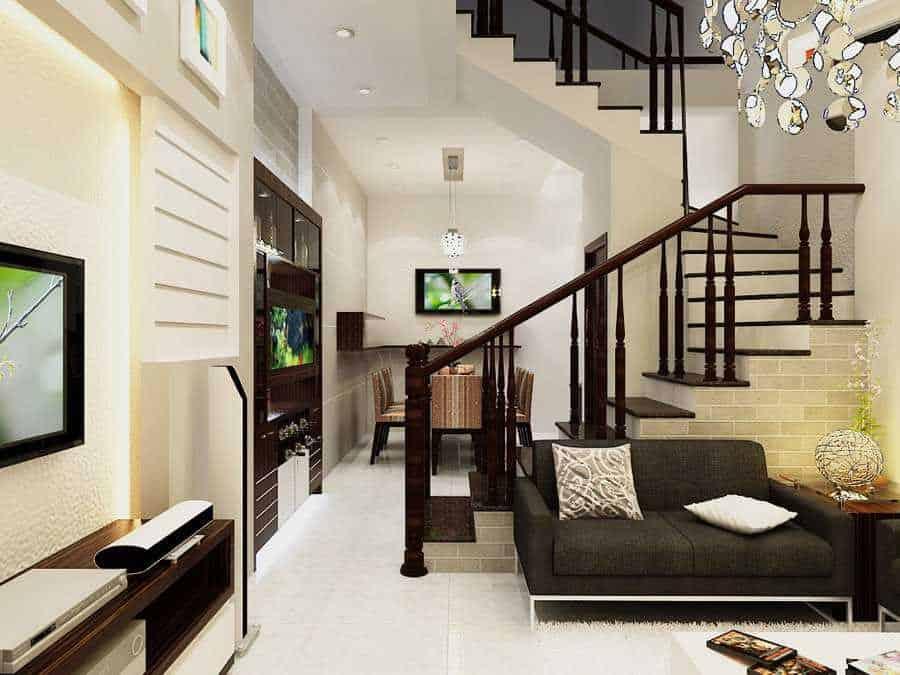 Top 20 Mẫu Thiết Kế Nội Thất Nhà Phố, Nhà Ống Đẹp Ấn Tượng Nhất -  - mẫu thiết kế nhà ống đẹp | mẫu thiết kế nhà phố đẹp | Mẫu thiết kế nội thất đẹp 47