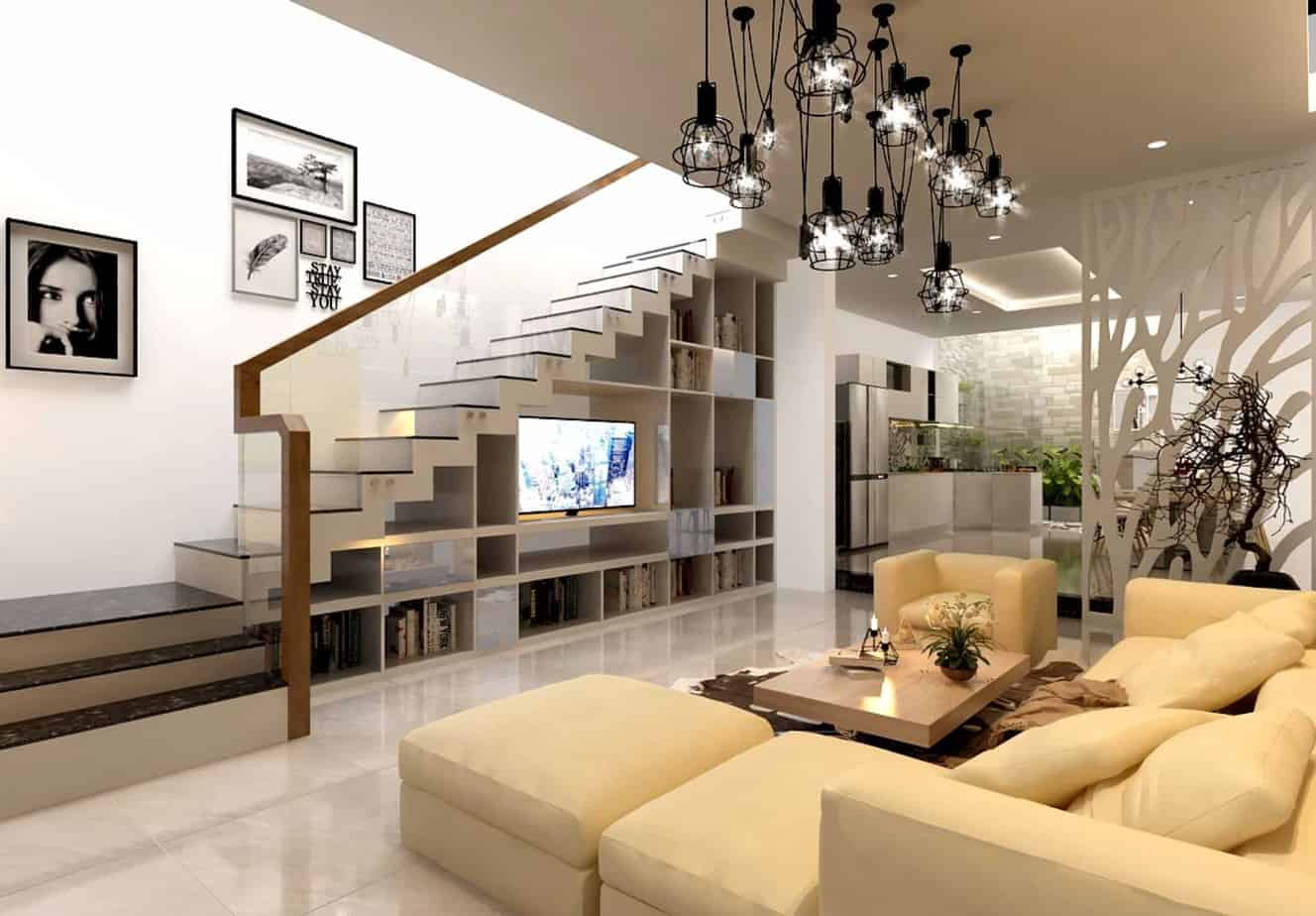 Top 20 Mẫu Thiết Kế Nội Thất Nhà Phố, Nhà Ống Đẹp Ấn Tượng Nhất -  - mẫu thiết kế nhà ống đẹp | mẫu thiết kế nhà phố đẹp | Mẫu thiết kế nội thất đẹp 49