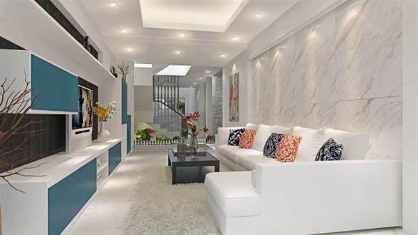 Top 20 Mẫu Thiết Kế Nội Thất Nhà Phố, Nhà Ống Đẹp Ấn Tượng Nhất -  - mẫu thiết kế nhà ống đẹp | mẫu thiết kế nhà phố đẹp | Mẫu thiết kế nội thất đẹp 53