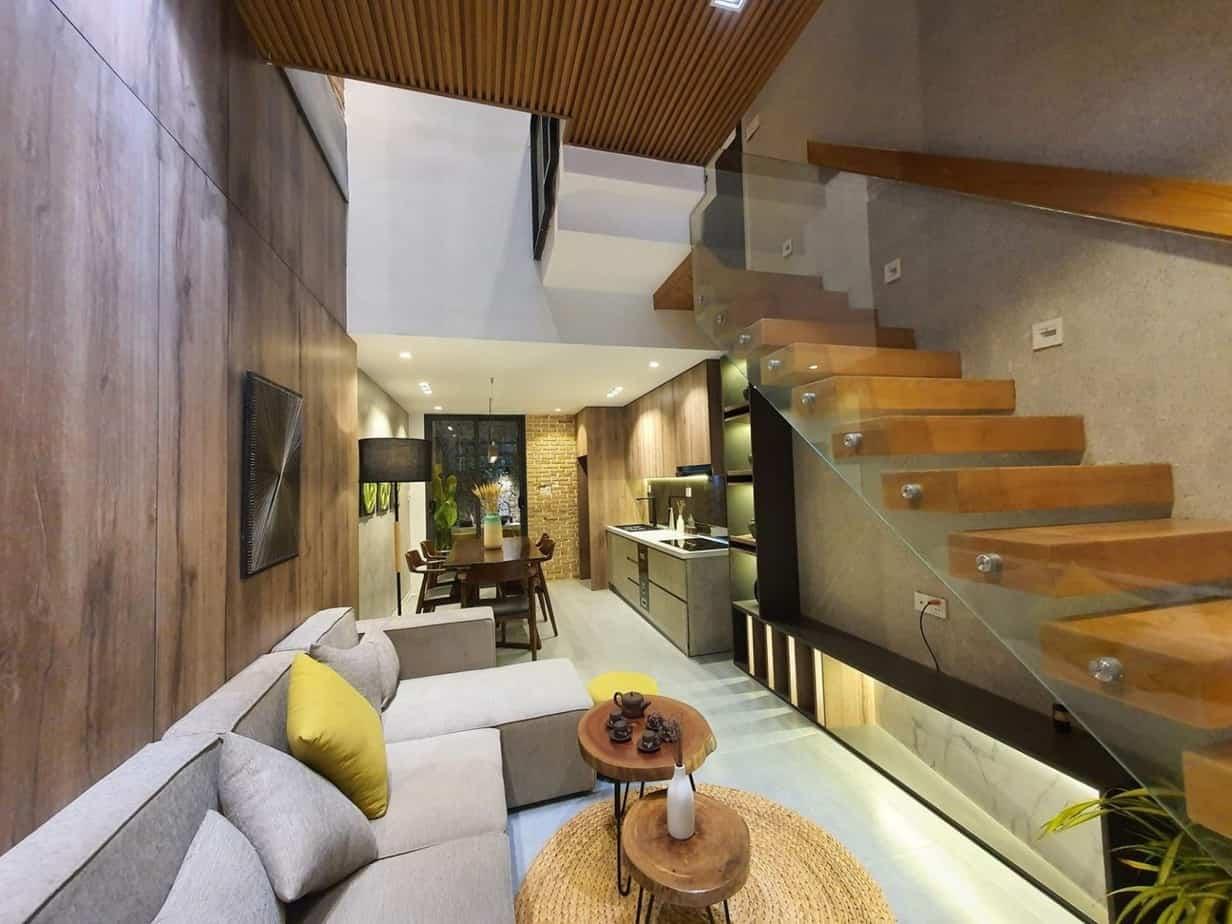Top 20 Mẫu Thiết Kế Nội Thất Nhà Phố, Nhà Ống Đẹp Ấn Tượng Nhất -  - mẫu thiết kế nhà ống đẹp | mẫu thiết kế nhà phố đẹp | Mẫu thiết kế nội thất đẹp 57