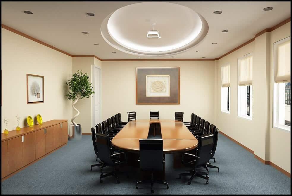 Top 6 Mẫu Thiết Kế Nội Thất Phòng Họp Đẹp, Sang Trọng Nhất -  - Mẫu thiết kế nội thất đẹp | thiết kế nội thất phòng họp 25