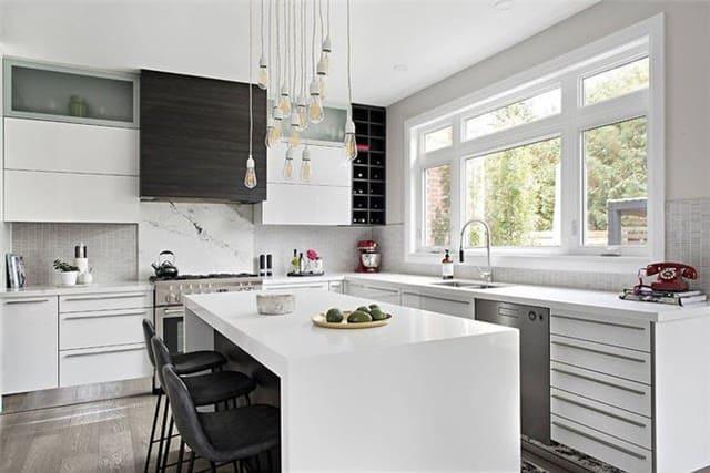 thiết kế nội thất phòng bếp hiện đại
