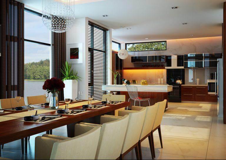 Top 30+ Mẫu Thiết Kế Nội Thất Phòng Ăn Đẹp, Ấn Tượng Nhất -  - Mẫu thiết kế nội thất đẹp | thiết kế nội thất phòng ăn đẹp 125