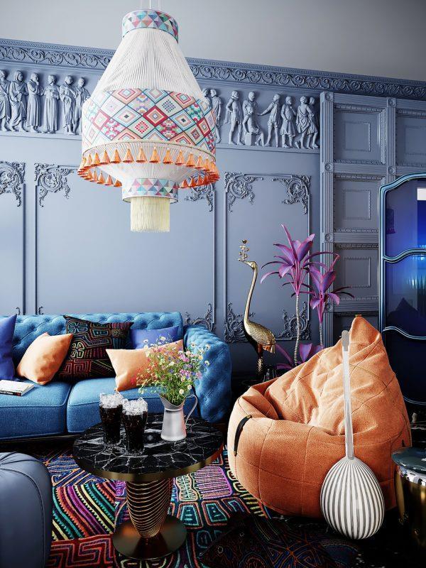 Top 23 Mẫu Thiết Kế Nội Thất Châu Âu Đẹp Ấn Tượng -  - Mẫu thiết kế nội thất đẹp | thiết kế nội thất châu âu đẹp 75