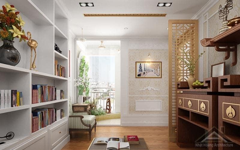 Top 10 Mẫu Thiết Kế Nội Thất Phòng Thờ Đẹp Ấn Tượng Nhất -  - Mẫu thiết kế nội thất đẹp | thiết kế nội thất phòng thờ 39