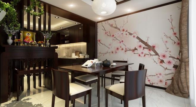 Top 10 Mẫu Thiết Kế Nội Thất Phòng Thờ Đẹp Ấn Tượng Nhất -  - Mẫu thiết kế nội thất đẹp | thiết kế nội thất phòng thờ 29
