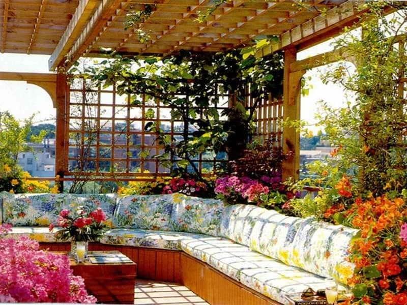 Top 20+ Mẫu Thiết Kế Sân Thượng Đẹp Hút Hồn -  - mẫu thiết kế nhà đẹp   Mẫu thiết kế nội thất đẹp   mẫu thiết kế sân thượng đẹp 75