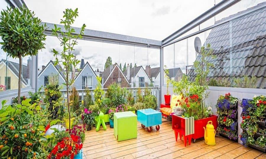 Top 20+ Mẫu Thiết Kế Sân Thượng Đẹp Hút Hồn -  - mẫu thiết kế nhà đẹp   Mẫu thiết kế nội thất đẹp   mẫu thiết kế sân thượng đẹp 59