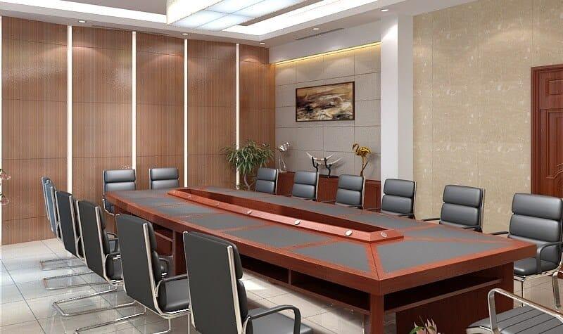 Top 6 Mẫu Thiết Kế Nội Thất Phòng Họp Đẹp, Sang Trọng Nhất -  - Mẫu thiết kế nội thất đẹp | thiết kế nội thất phòng họp 31
