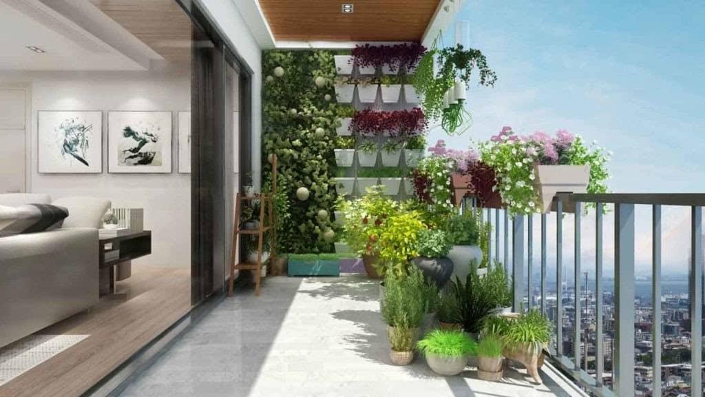 Top 7 Lưu Ý Khi Thiết Kế Nội Thất Ban Công -  - mẫu thiết kế ban công đẹp | Mẫu thiết kế nội thất đẹp 29