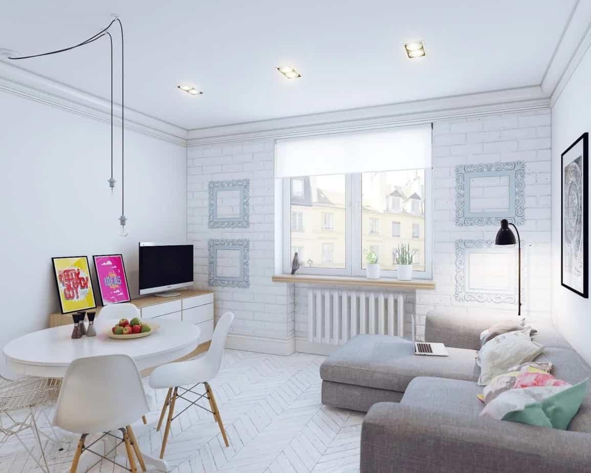 Top 20+ Mẫu Thiết Kế Nội Thất Nhà Nhỏ, Căn Hộ Nhỏ Đẹp Ấn Tượng Nhất -  - Mẫu thiết kế nội thất đẹp | nội thất cho nhà diện tích hẹp | nội thất cho nhà nhỏ 81