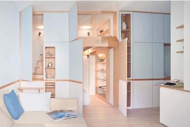 Top 20+ Mẫu Thiết Kế Nội Thất Nhà Nhỏ, Căn Hộ Nhỏ Đẹp Ấn Tượng Nhất -  - Mẫu thiết kế nội thất đẹp | nội thất cho nhà diện tích hẹp | nội thất cho nhà nhỏ 105
