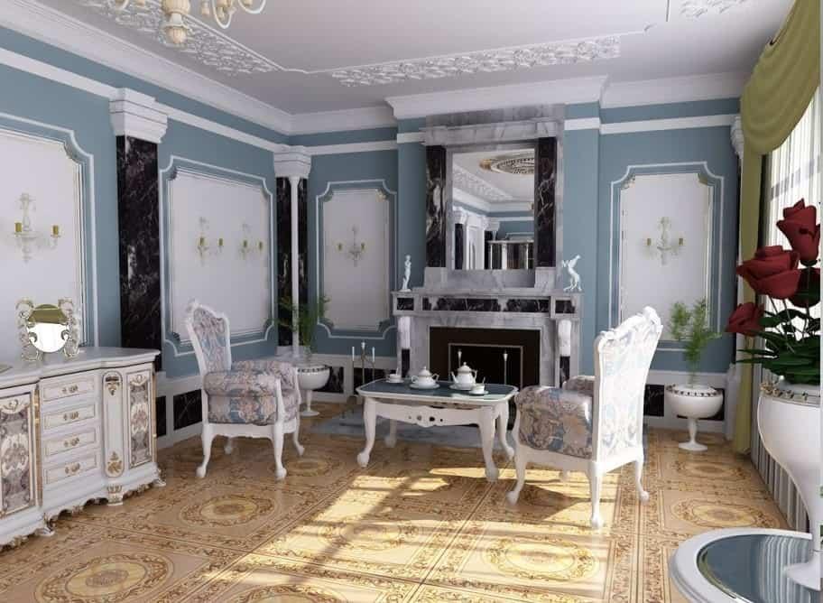 Top 26 Mẫu Thiết Kế Nội Thất Tây Âu Đẹp Ấn Tượng Nhất -  - Mẫu thiết kế nội thất đẹp | Nội thất phong cách tây âu 93