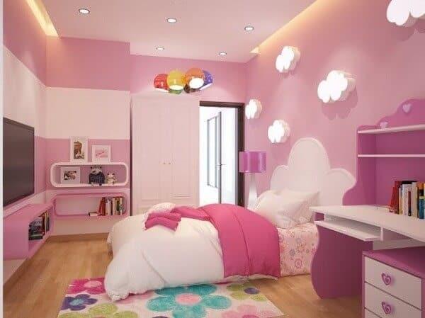 Top 30+ Mẫu Thiết Kế Nội Thất Phòng Trẻ Em (Bé Trai, Gái) Đẹp Ấn Tượng Nhất -  - mẫu phòng ngủ trẻ em đẹp | Mẫu thiết kế nội thất đẹp | mẫu thiết kế phòng ngủ đẹp 99