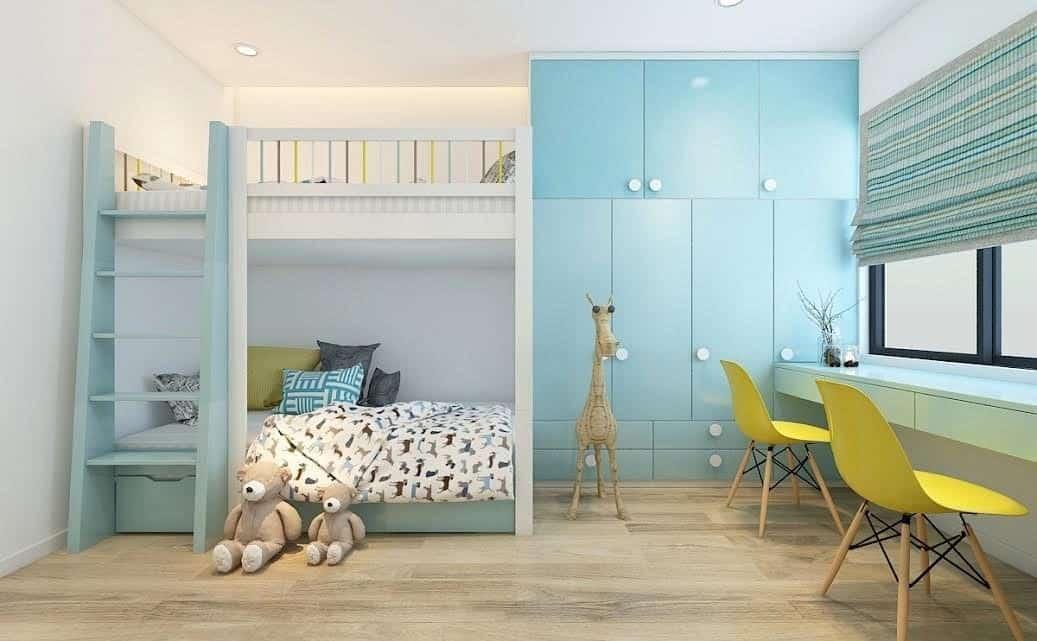 Top 30+ Mẫu Thiết Kế Nội Thất Phòng Trẻ Em (Bé Trai, Gái) Đẹp Ấn Tượng Nhất -  - mẫu phòng ngủ trẻ em đẹp | Mẫu thiết kế nội thất đẹp | mẫu thiết kế phòng ngủ đẹp 117