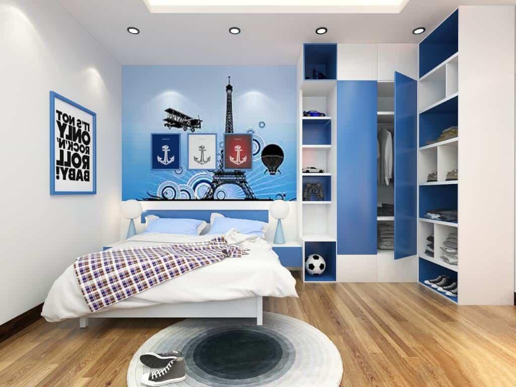 Top 30+ Mẫu Thiết Kế Nội Thất Phòng Trẻ Em (Bé Trai, Gái) Đẹp Ấn Tượng Nhất -  - mẫu phòng ngủ trẻ em đẹp | Mẫu thiết kế nội thất đẹp | mẫu thiết kế phòng ngủ đẹp 69