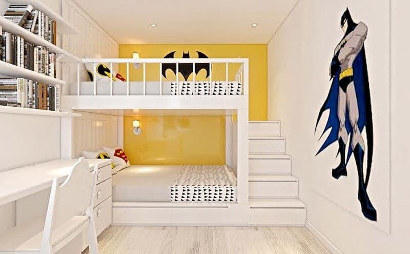 Top 30+ Mẫu Thiết Kế Nội Thất Phòng Trẻ Em (Bé Trai, Gái) Đẹp Ấn Tượng Nhất -  - mẫu phòng ngủ trẻ em đẹp | Mẫu thiết kế nội thất đẹp | mẫu thiết kế phòng ngủ đẹp 127