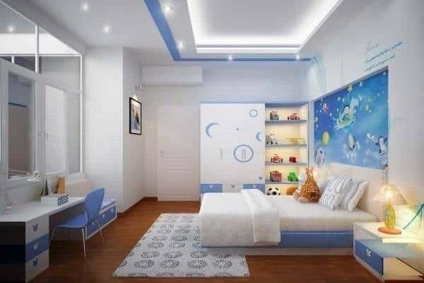 Top 30+ Mẫu Thiết Kế Nội Thất Phòng Trẻ Em (Bé Trai, Gái) Đẹp Ấn Tượng Nhất -  - mẫu phòng ngủ trẻ em đẹp | Mẫu thiết kế nội thất đẹp | mẫu thiết kế phòng ngủ đẹp 77
