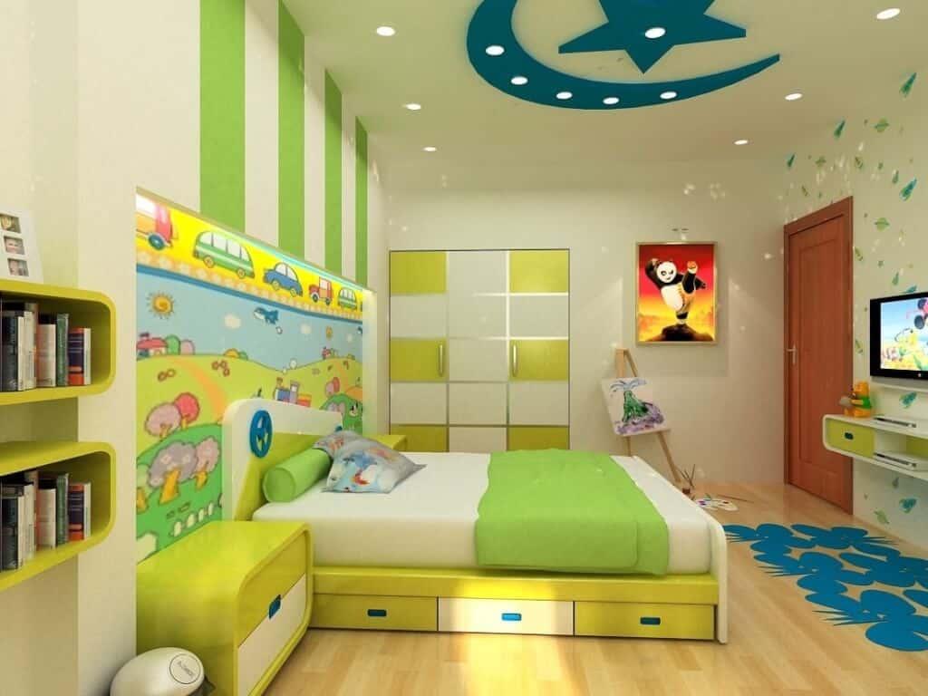 Top 30+ Mẫu Thiết Kế Nội Thất Phòng Trẻ Em (Bé Trai, Gái) Đẹp Ấn Tượng Nhất -  - mẫu phòng ngủ trẻ em đẹp | Mẫu thiết kế nội thất đẹp | mẫu thiết kế phòng ngủ đẹp 79