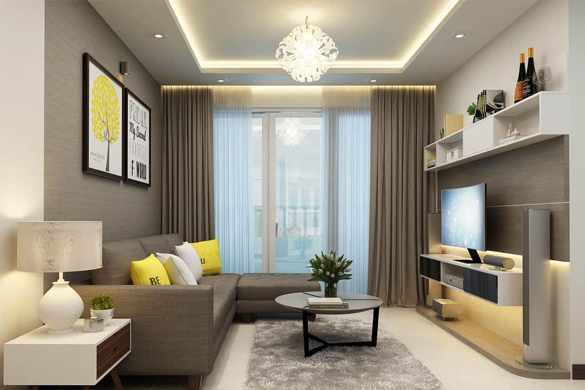 Top 13 Lưu Ý Khi Thiết Kế Nội Thất Nhà Phố, Căn Hộ 60- 75m2 -  - Mẫu thiết kế nội thất đẹp 33