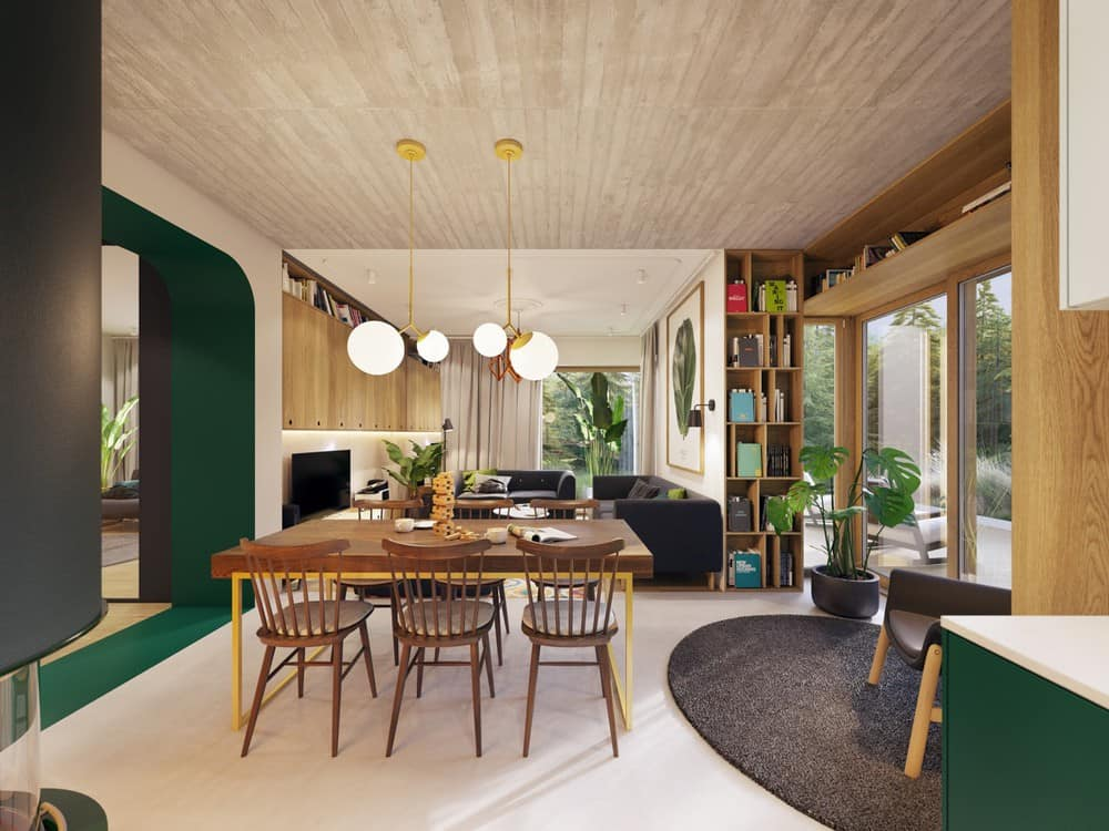 Top 10+ Lưu Ý Khi Thiết Kế Nội Thất Nhà Phố, Căn Hộ 100- 115m2 -  - Mẫu thiết kế nội thất đẹp 35