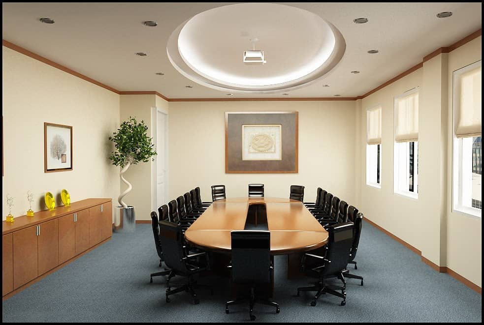 Top 10 Lưu Ý Khi Thiết Kế Nội Thất Phòng Họp -  - thiết kế nội thất phòng họp 116