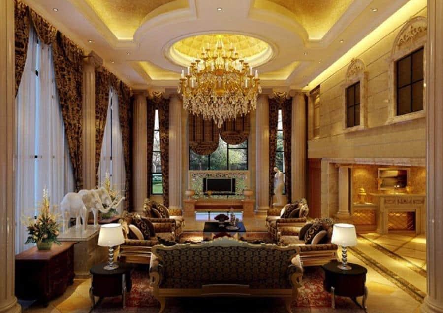 Top 25+ Mẫu Thiết Kế Nhà Phong Cách Luxury Đẹp Ngất Ngây -  - Mẫu thiết kế nội thất đẹp | thiết kế nhà phong cách luxury 57
