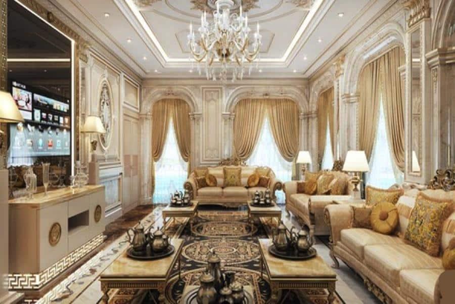 Top 25+ Mẫu Thiết Kế Nhà Phong Cách Luxury Đẹp Ngất Ngây -  - Mẫu thiết kế nội thất đẹp | thiết kế nhà phong cách luxury 75