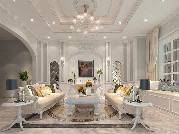 Top 23 Mẫu Thiết Kế Nội Thất Châu Âu Đẹp Ấn Tượng -  - Mẫu thiết kế nội thất đẹp | thiết kế nội thất châu âu đẹp 49