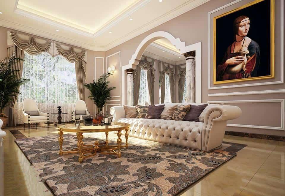 Top 23 Mẫu Thiết Kế Nội Thất Châu Âu Đẹp Ấn Tượng -  - Mẫu thiết kế nội thất đẹp | thiết kế nội thất châu âu đẹp 61