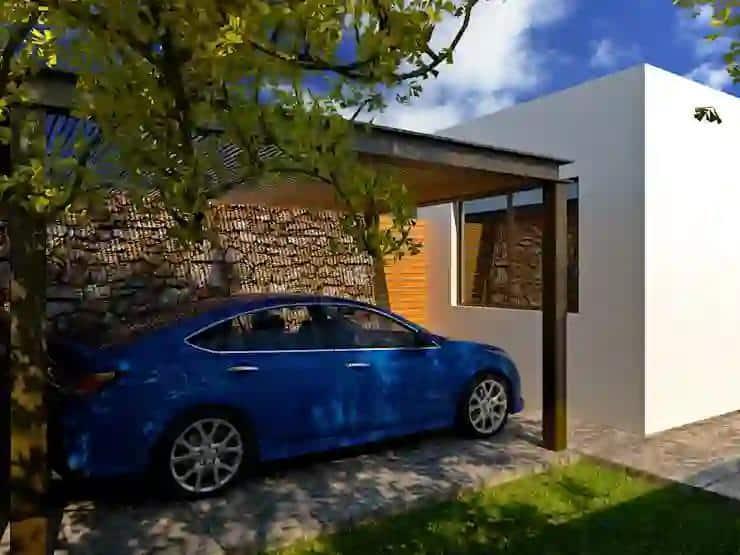 Top 20+ Mẫu Thiết Kế Nội Thất Nhà Xe Đẹp Bất Ngờ -  - Mẫu thiết kế nội thất đẹp | thiết kế nội thất nhà xe 71