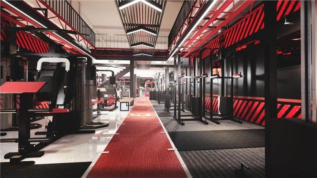 mẫu thiết kế phòng gym chuyên nghiệp