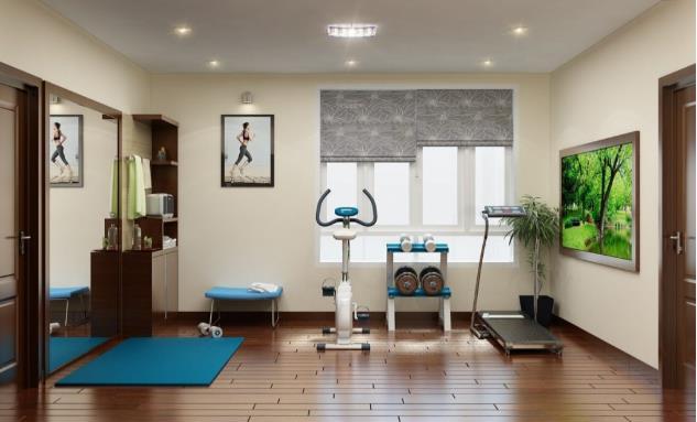 Top 20 Mẫu Thiết Kế Nội Thất Phòng Tập Thể Dục, Gym Đẹp Ấn Tượng -  - Mẫu thiết kế nội thất đẹp | thiết kế phòng tập gym | thiết kế phòng tập thể dục 72