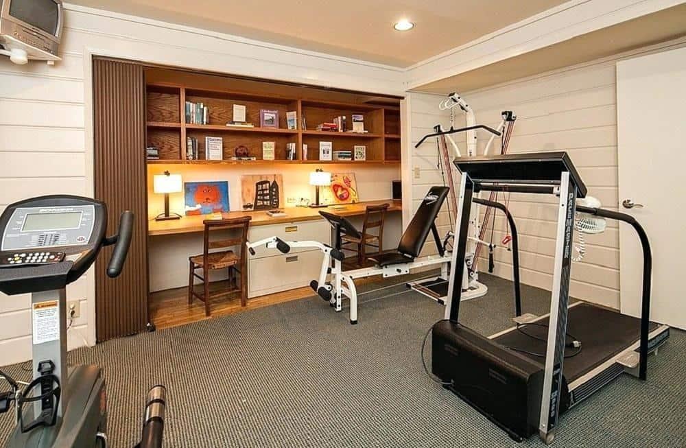 thiết kế nội thất phòng gym tại nhà