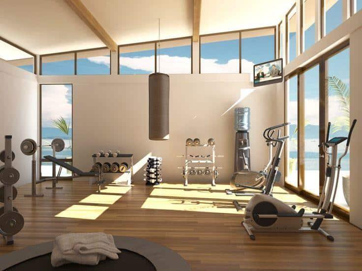 Top 20 Mẫu Thiết Kế Nội Thất Phòng Tập Thể Dục, Gym Đẹp Ấn Tượng -  - Mẫu thiết kế nội thất đẹp | thiết kế phòng tập gym | thiết kế phòng tập thể dục 79