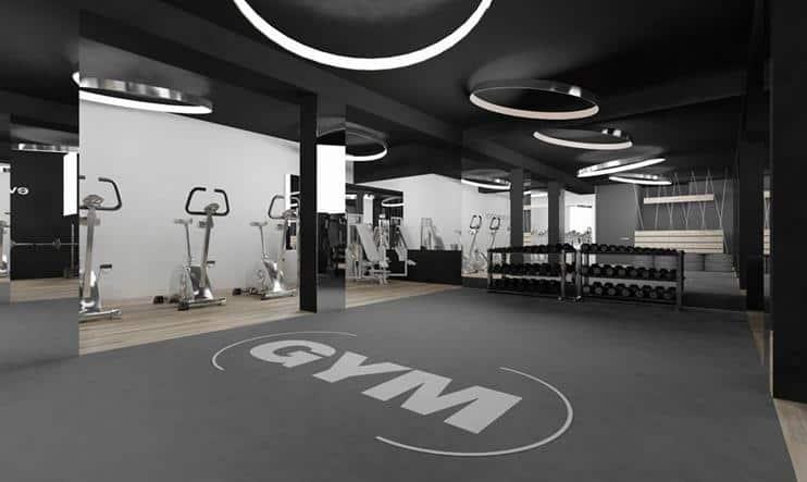 Top 20 Mẫu Thiết Kế Nội Thất Phòng Tập Thể Dục, Gym Đẹp Ấn Tượng -  - Mẫu thiết kế nội thất đẹp | thiết kế phòng tập gym | thiết kế phòng tập thể dục 45