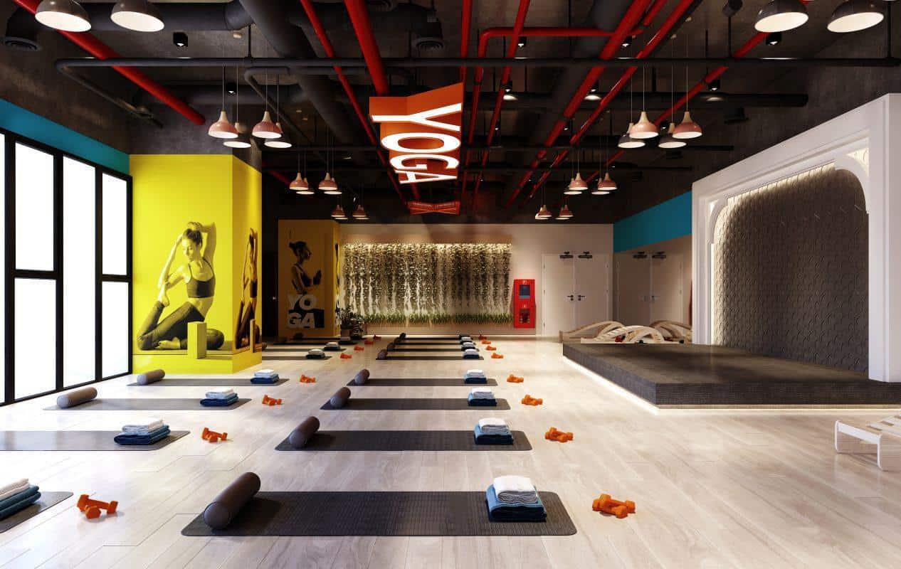 Top 20 Mẫu Thiết Kế Nội Thất Phòng Tập Thể Dục, Gym Đẹp Ấn Tượng -  - Mẫu thiết kế nội thất đẹp | thiết kế phòng tập gym | thiết kế phòng tập thể dục 50