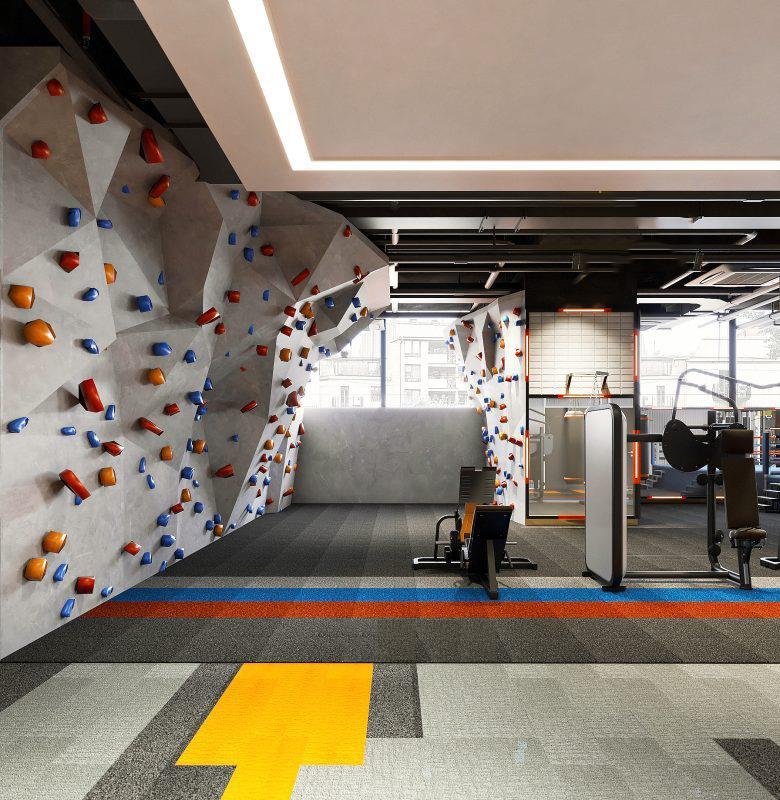 Top 20 Mẫu Thiết Kế Nội Thất Phòng Tập Thể Dục, Gym Đẹp Ấn Tượng -  - Mẫu thiết kế nội thất đẹp | thiết kế phòng tập gym | thiết kế phòng tập thể dục 52