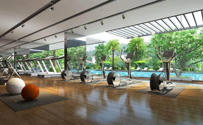 thiết kế nội thất phòng gym chuyên nghiệp