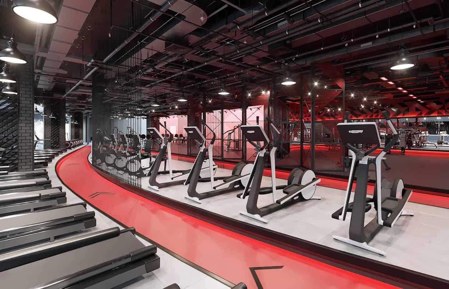 Top 20 Mẫu Thiết Kế Nội Thất Phòng Tập Thể Dục, Gym Đẹp Ấn Tượng -  - Mẫu thiết kế nội thất đẹp | thiết kế phòng tập gym | thiết kế phòng tập thể dục 58