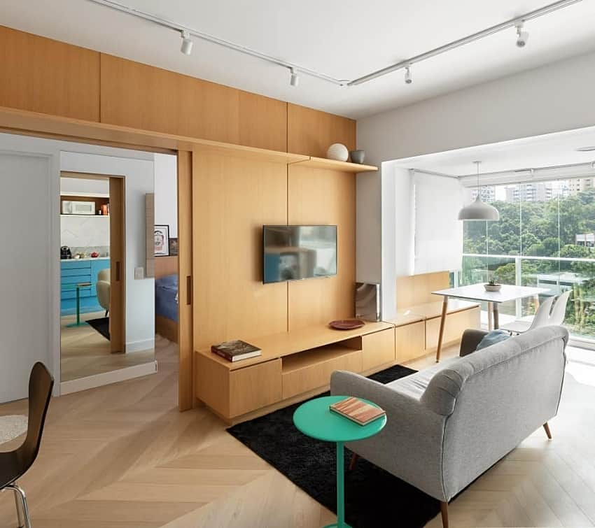 thiết kế nội thất nhà phố đẹp