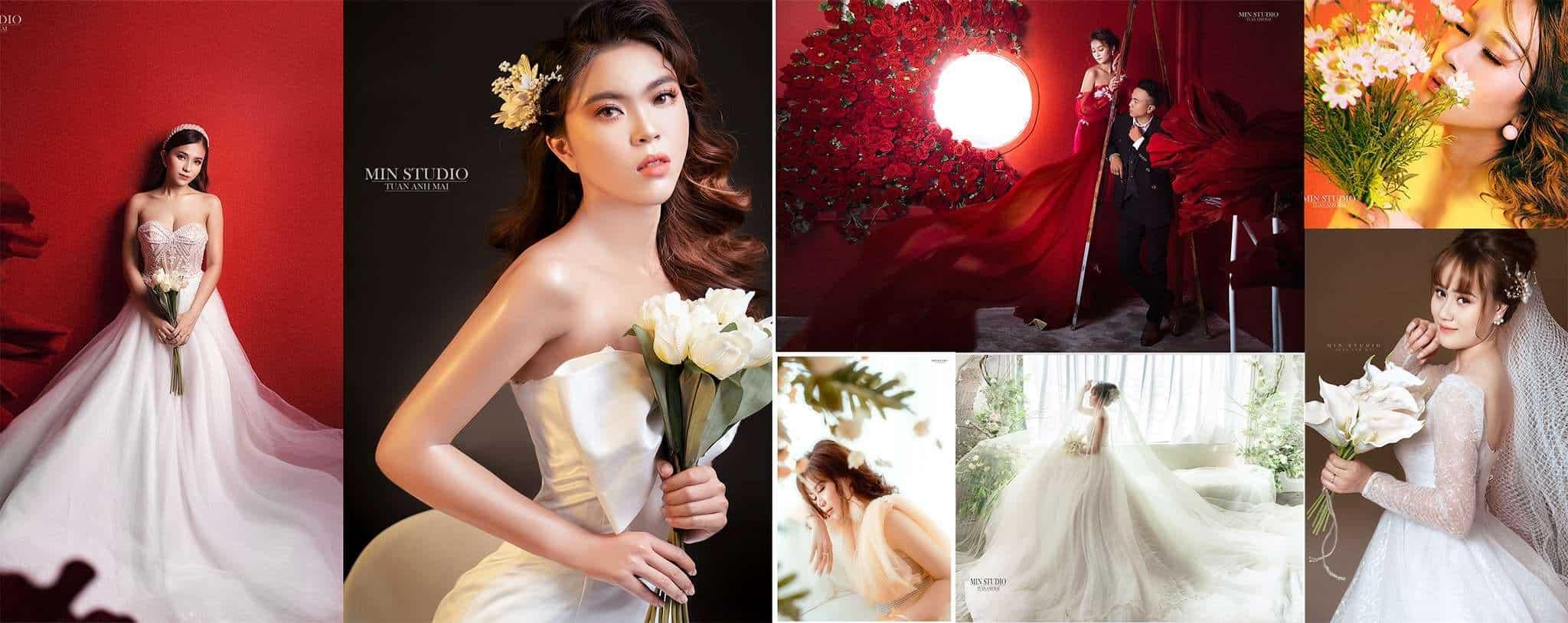 Top 10 Địa Chỉ Trang Điểm Cô Dâu Đẹp Xuất Sắc Tại Nha Trang -  - Chang Make Up | Cường Trần Studio | Lyn Artist 31