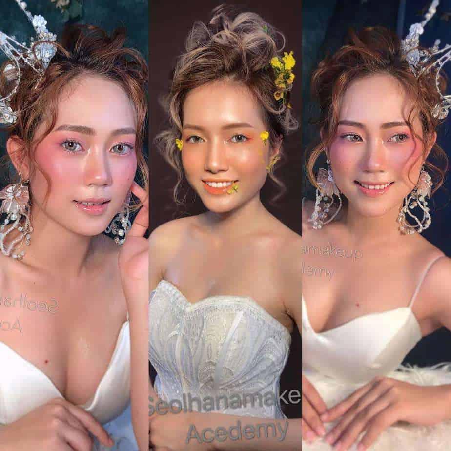 Top 10 Địa Chỉ Trang Điểm Cô Dâu Đẹp Xuất Sắc Tại Nha Trang -  - Chang Make Up | Cường Trần Studio | Lyn Artist 37